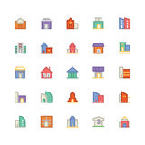 Building & Furniture Vector Icon 2. Take a trip back in time and decorate with this new Buildings and Furniture Pack You will love using the icon pack for your Royalty Free Stock Photo