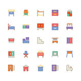 Building & Furniture Vector Icon 9 Stock Image