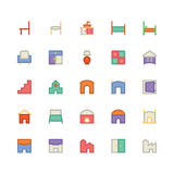 Building & Furniture Vector Icon 11 Stock Photography