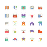Building & Furniture Vector Icon 14 Stock Photography