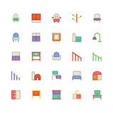 Building & Furniture Vector Icon 15 Royalty Free Stock Photography