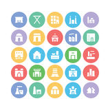 Building & Furniture Vector Icons 4 Stock Photo