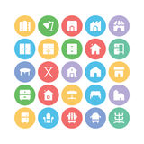 Building & Furniture Vector Icons 14 Stock Photography