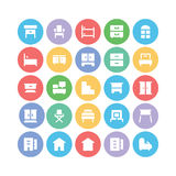 Building & Furniture Vector Icons 9 Stock Photos