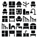 Building & Furniture Vector Icons 15 Stock Photos