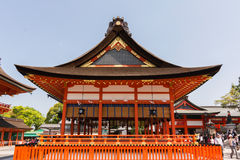 Building of Fushimi Inari Taisha Stock Image