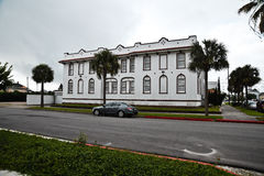 Building in Galveston Texas. Royalty Free Stock Photo