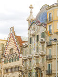 Building by Gaudi in Barcelona 15 Stock Photography