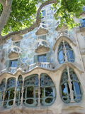 Building by Gaudi. In Barcelona, Spain Royalty Free Stock Image