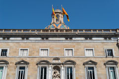 Building Generalitat de Catalunya Royalty Free Stock Photography