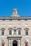 Building Generalitat de Catalunya Royalty Free Stock Images