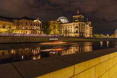 The building of the German Parliament the Reichstag in Berlin, G Royalty Free Stock Photography