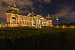 The building of the German Parliament the Reichstag in Berlin, G Royalty Free Stock Photos
