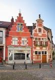 Building in Ghent. Flanders. Belgium Royalty Free Stock Photos