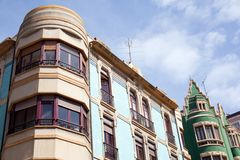 Building in Gijon Stock Image