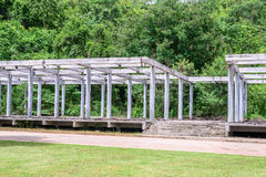 Building girder structure under construction Royalty Free Stock Images