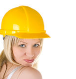 Building girl Royalty Free Stock Images