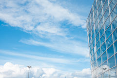Building glass background Stock Image