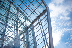 Building glass background,  shopping mall Stock Photography