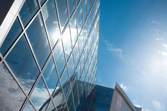 Building glass background,  shopping mall Royalty Free Stock Photo