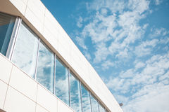 Building glass background, wall with Windows Royalty Free Stock Image