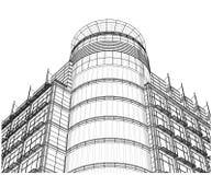 Free Building Glass Corner Entrance Circle And Quadrant Vector Stock Photo - 35034000