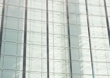 Building glass, glass window architectural detail Stock Photos