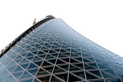 Building of glass and metal Royalty Free Stock Images