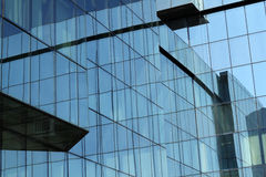 Building glass wall Royalty Free Stock Photography