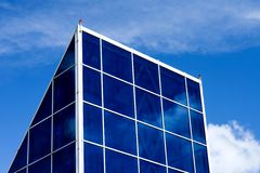 Building with Glass windows Royalty Free Stock Image