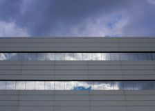 Building with glass windows for Business Stock Photography