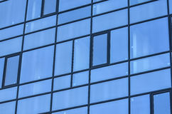 Building with glass windows Royalty Free Stock Images