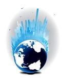 Building Globe Royalty Free Stock Image