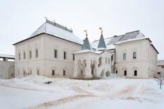 Building of Gosudarskie Khoromy King`s House in Rostov Kremlin Stock Images