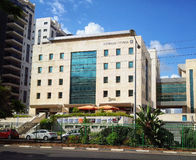 Building of Government Office in Rishon LeZion Stock Images