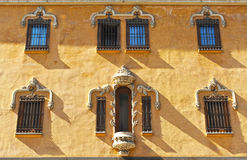 Building on the Gran Via in Granada, Andalusia, Spain Stock Images