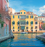 Building by Grand Canal Royalty Free Stock Photos