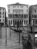 Building in the Grand Canal of Venice, Italy stock photo