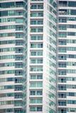 Building. Green building Close-up in bangkok Stock Image