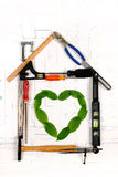 Building Green Concept Royalty Free Stock Image