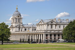 Building of Greenwich University in London Stock Photos