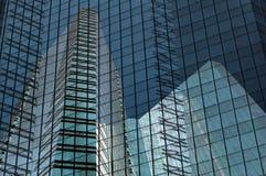 Building grid. Modern towerblocks in Bangkok stock images