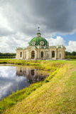 The building of Grotto in Kuskovo park, Moscow Stock Photos