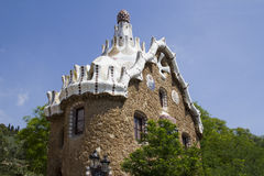 Building in Guell Park, Barcelona Royalty Free Stock Photo