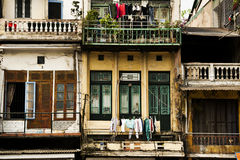 Building in Hanoi Viet Nam Royalty Free Stock Image