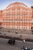 Building of Hava Mahal, Jaipur, India Royalty Free Stock Image