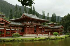 Building. Hawaii Chinese beautiful lake photographer Royalty Free Stock Images