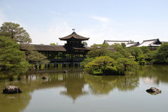 Building at Heian-Jing Stock Image
