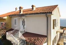 Building in Herceg Novi. Montenegro Stock Photo