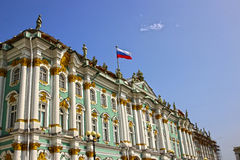 Building of the Hermitage in St. Petersburg Stock Photography